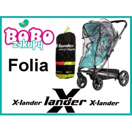 FOLIA X-Cover do wózków X-LANDER X-PULSE, X-MOVE, X-CITE