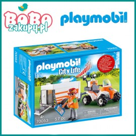 Playmobil 70053 Quad ratowniczy z przyczepą
