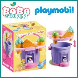 Playmobil 9406 Wiaderko do piasku Lodziarnia