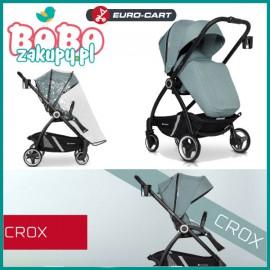 Euro Cart CROX SPACERÓWKA z przekładanym siedziskiem do 22 kg!