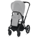 Cybex Priam 2.0 Wózek spacerowy + gondola + fotelik Cloud Z I-size + Obrotowa Baza Z-fix [MEGA zestaw 4w1]