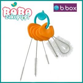 B.box Komplet 5 szczoteczek do czyszczenia bidonów i słomek