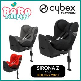CYBEX SIRONA Z I-SIZE FOTELIK SAMOCHODOWY 0-18KG + BAZA Z ISOFIX KOLORY 2020