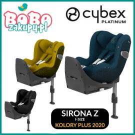 CYBEX SIRONA Z I-SIZE PLUS FOTELIK SAMOCHODOWY 0-18KG + BAZA Z ISOFIX KOLORY 2020