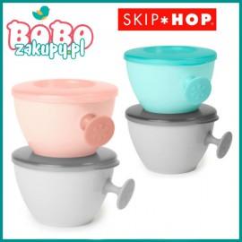 SKIP HOP Miseczka z pokrywką easy-grab bowls