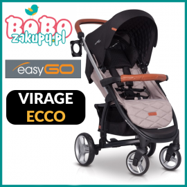 EASY GO VIRAGE ECCO 2019 WÓZEK SPACEROWY