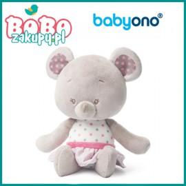BABYONO 1227 Przytulanka dla niemowląt BEAR SUZIE