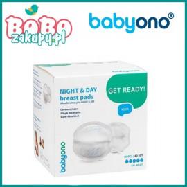 BABYONO 297 Wkładki laktacyjne Night&Day 40 sztuk