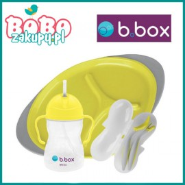 B.box Innowacyjny Zestaw do karmienia z Bidonem 350ml
