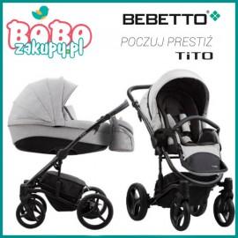 BEBETTO TITO 2W1 Wózek wielofunkcyjny 2020 + GRATISY