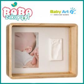 BABY ART Deep Frame Wooden Zdjęcie z odciskiem