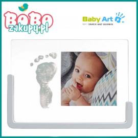 BABY ART Transparent Frame Crystal Zdjęcie z odciskiem