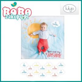 Lulujo Zestaw 1 roczek Kocyk + Karty My Sunshine