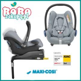 Fotelik samochodowy Maxi Cosi 0-13Kg Cabriofix Essential Blue 0-13Kg + Baza Familyfix