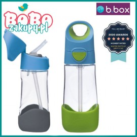 B.box Butelka tritanowa ze słomką 450 ml
