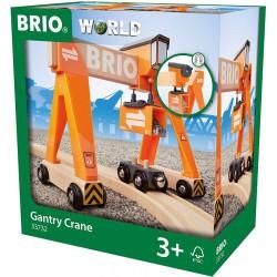 BRIO World Dźwig Suwnicowy...
