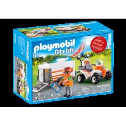 Playmobil City Life Quad...